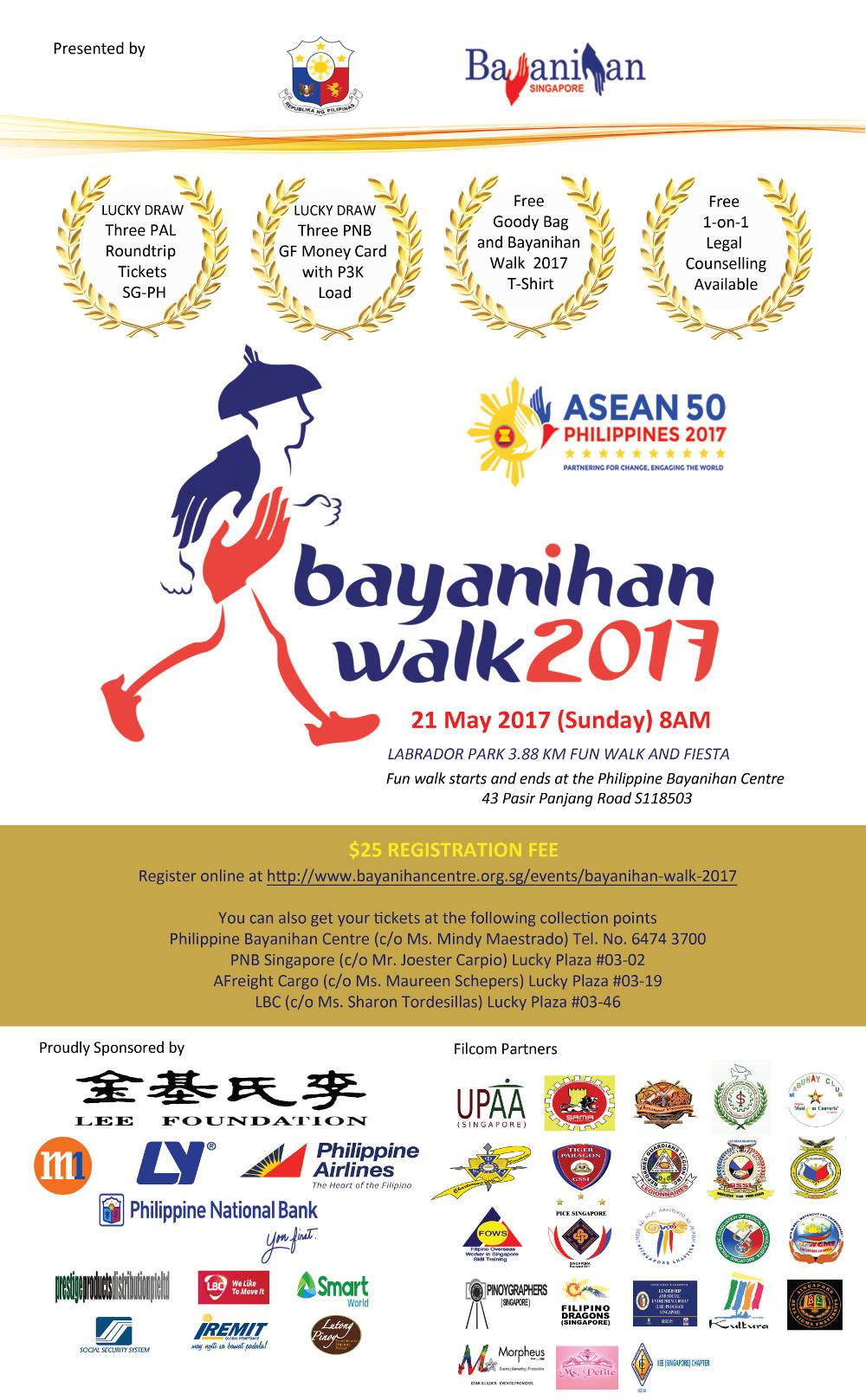Bayanihan Walk 2017