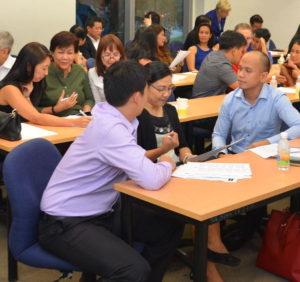 Leadership workshop at bayanihan centre
